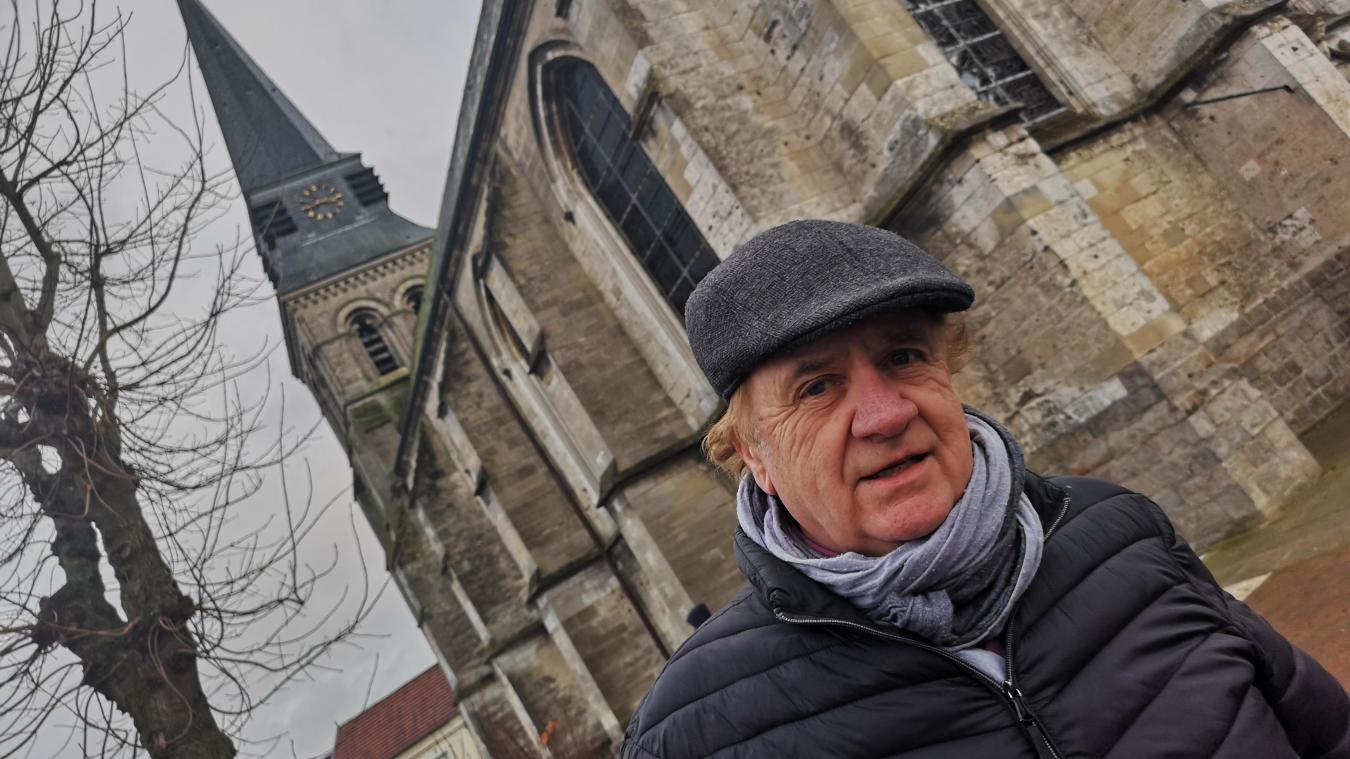 Aix-Noulette : il veut une restauration de l'église classée au Patrimoine