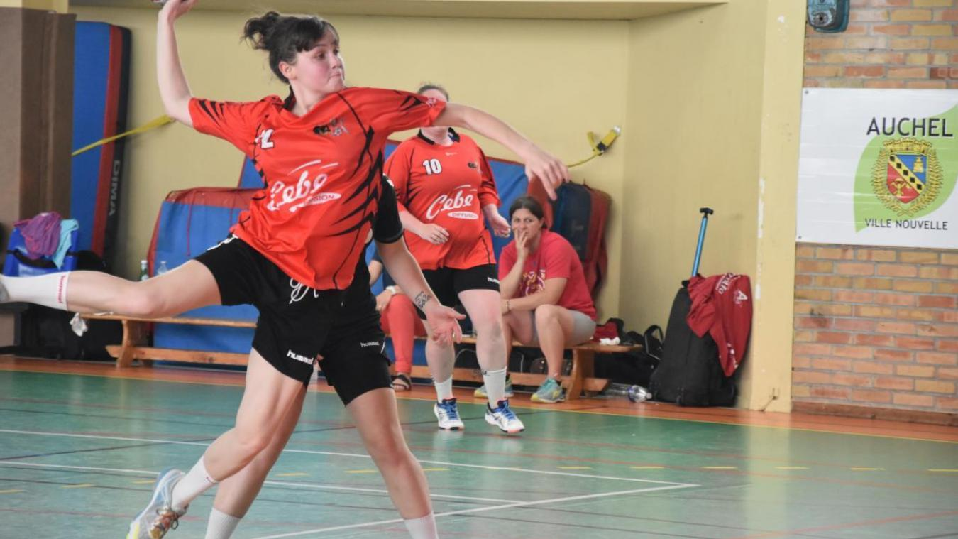 Le club de handball féminin d'Auchel bien parti pour se maintenir en prénational