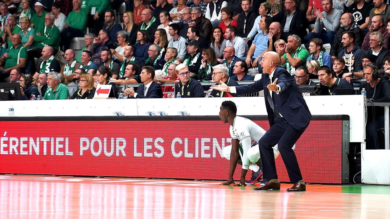Tout le peuple vert et blanc attend le retour d'Éric Girard ce jeudi face à Dijon.