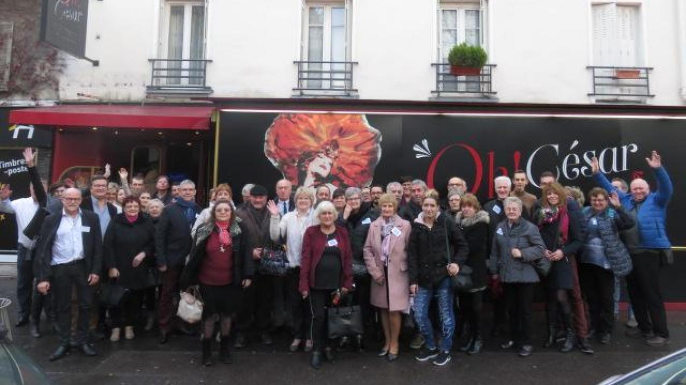 Les 40 gagnants ont remporté un voyage à Paris et une entrée au César Palace.