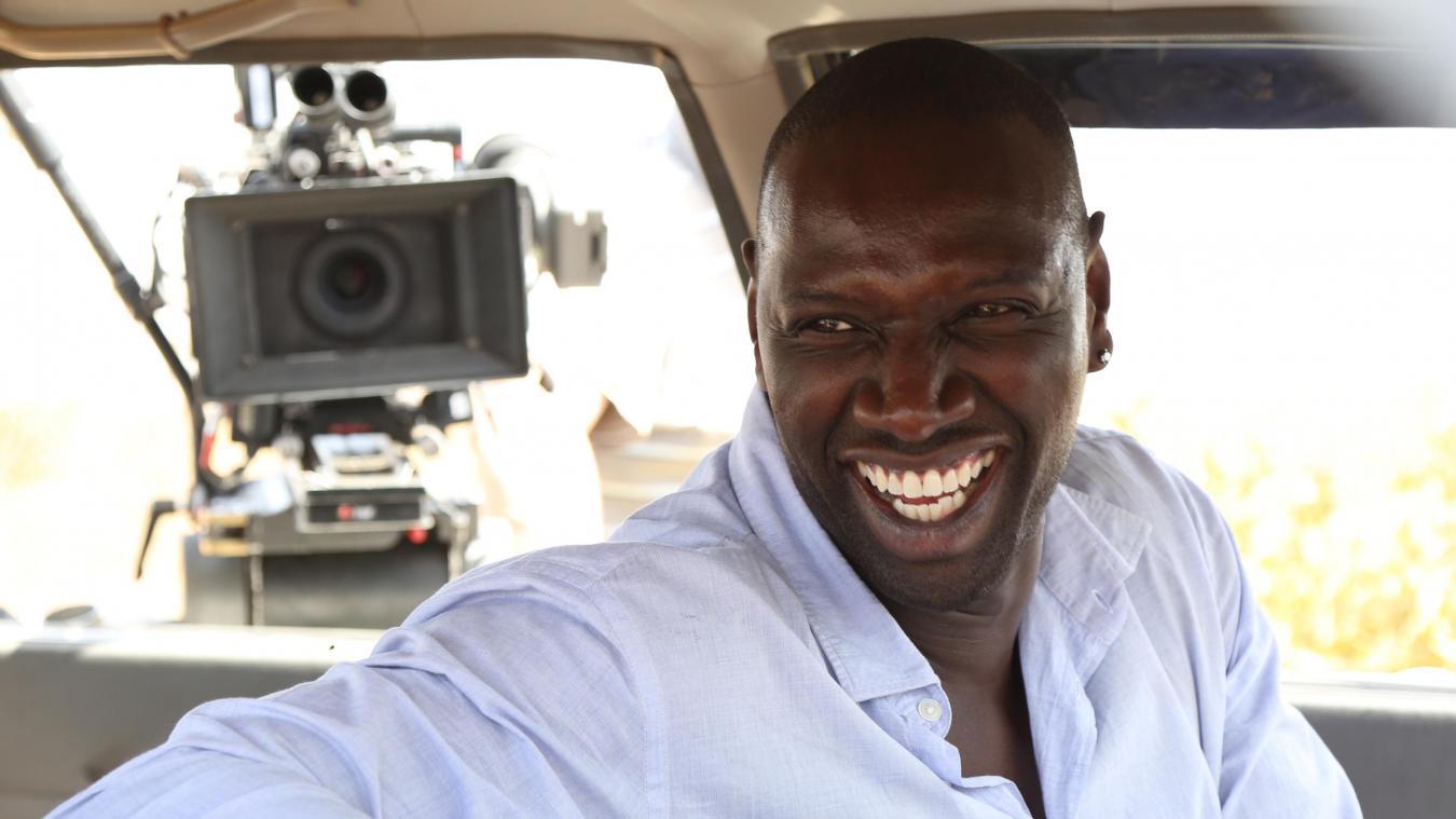 Omar Sy en plein tournage du film qui sera présenté à Saint-Omer.