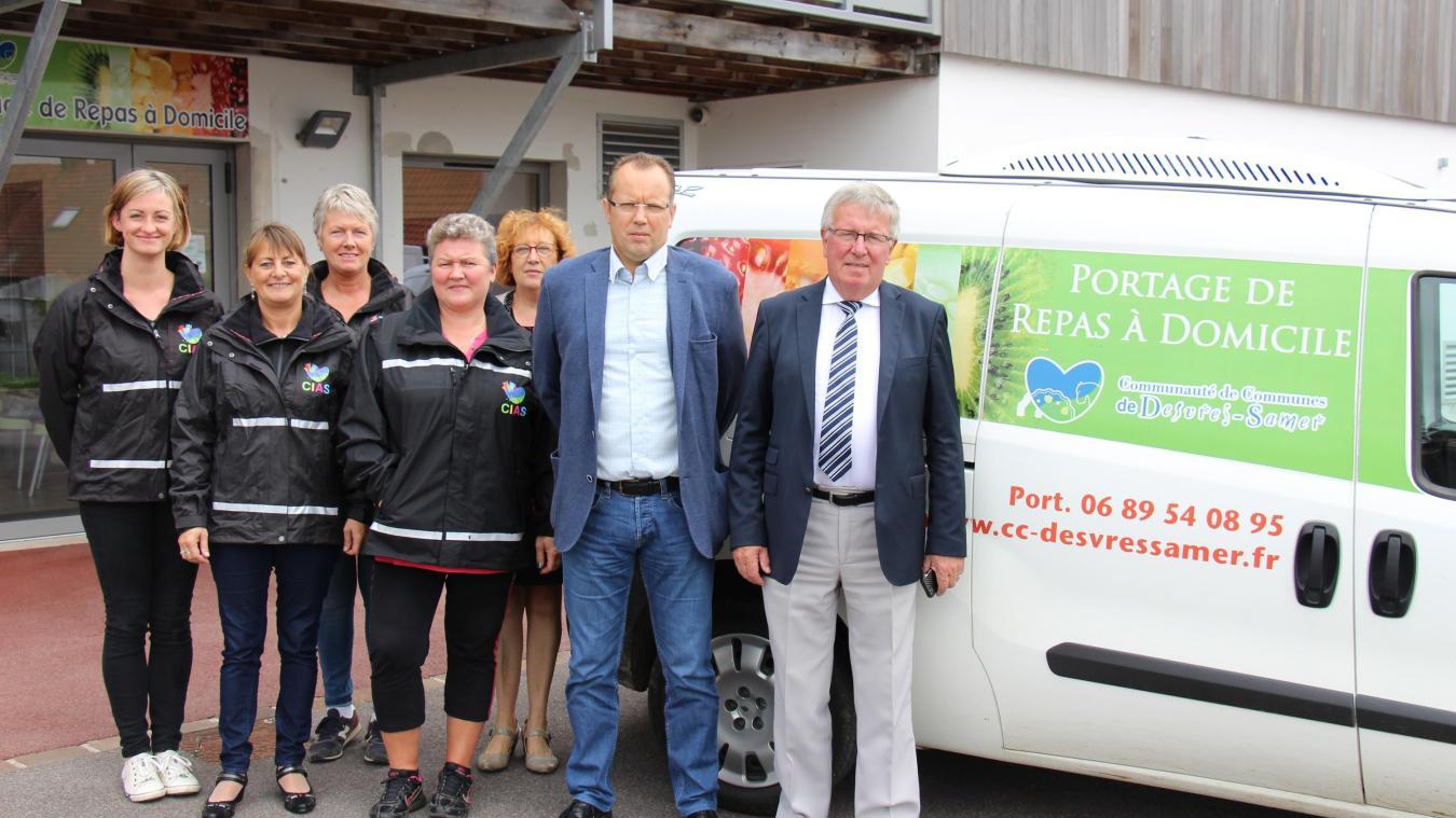 L'équipe du Portage sillonne les routes de la CCDS. En 2018, plus de 31 000 repas ont été distribués.