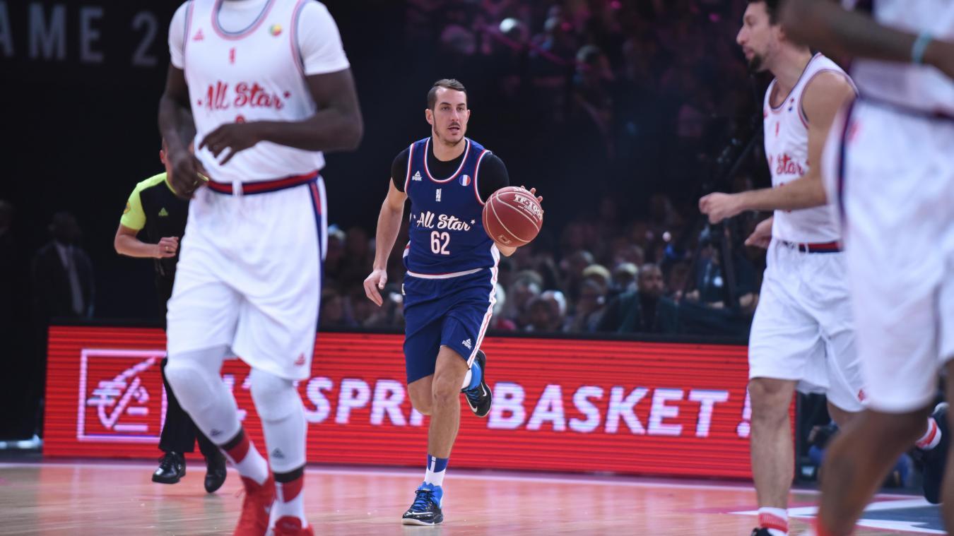 Le Portelois Benoît Mangin a pu jouer 15 min pour son premier All Star Game.