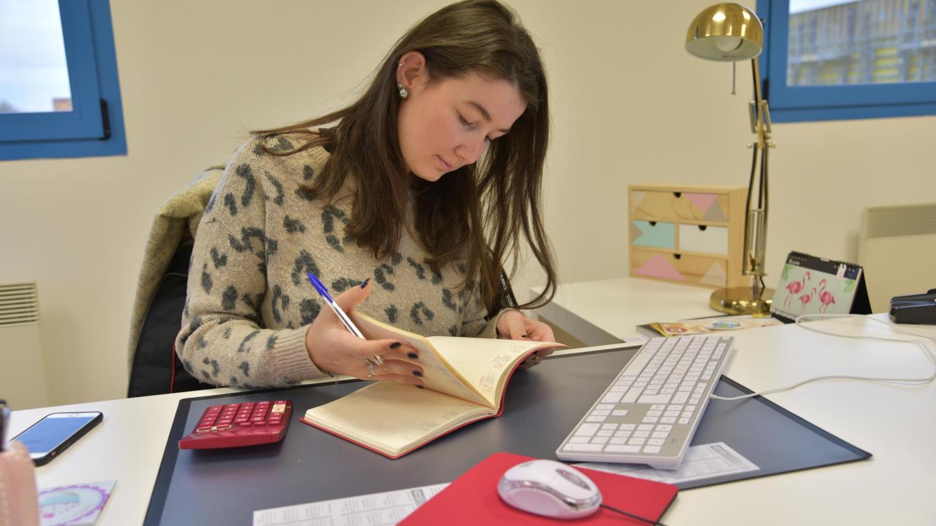 Gwendoline a fait de nombreux stages à l'étranger, mais a choisi Socx pour développer son entreprise.