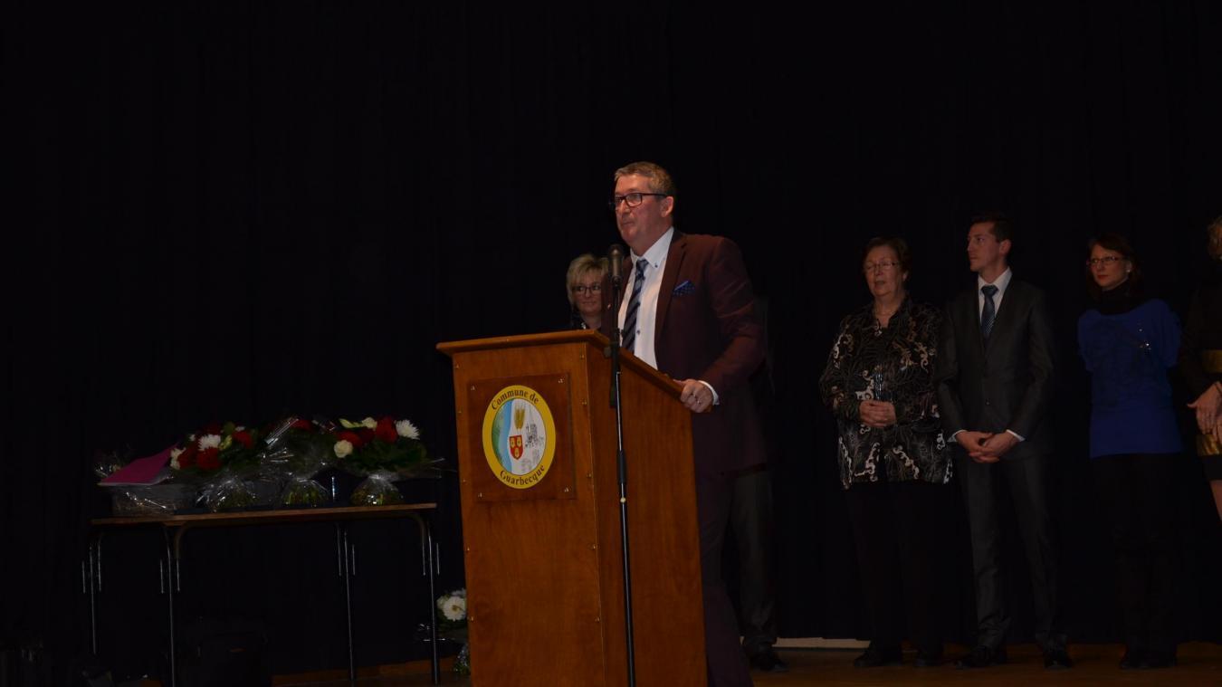 Samedi soir, Christophe Fiancette participera à sa dernière cérémonie de vœux en tant que maire.