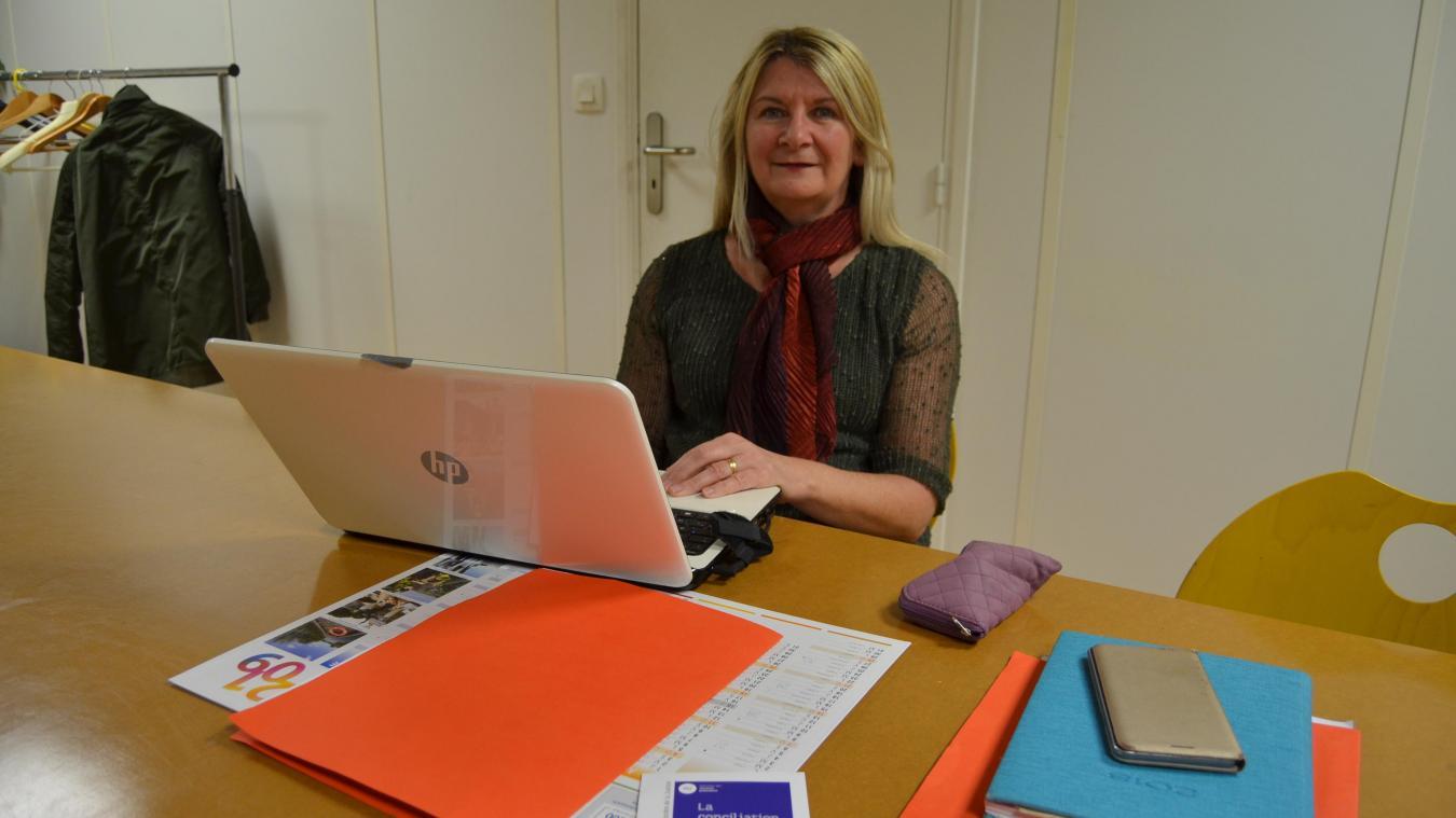 Patricia Mercier, conciliatrice de justice, tient des permanences en mairie de Busnes.