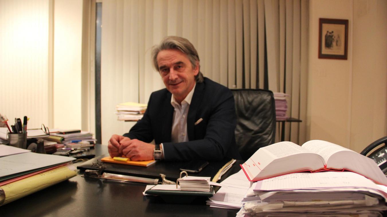 Xavier Brunet : bâtonnier commis d'office du barreau de Béthune