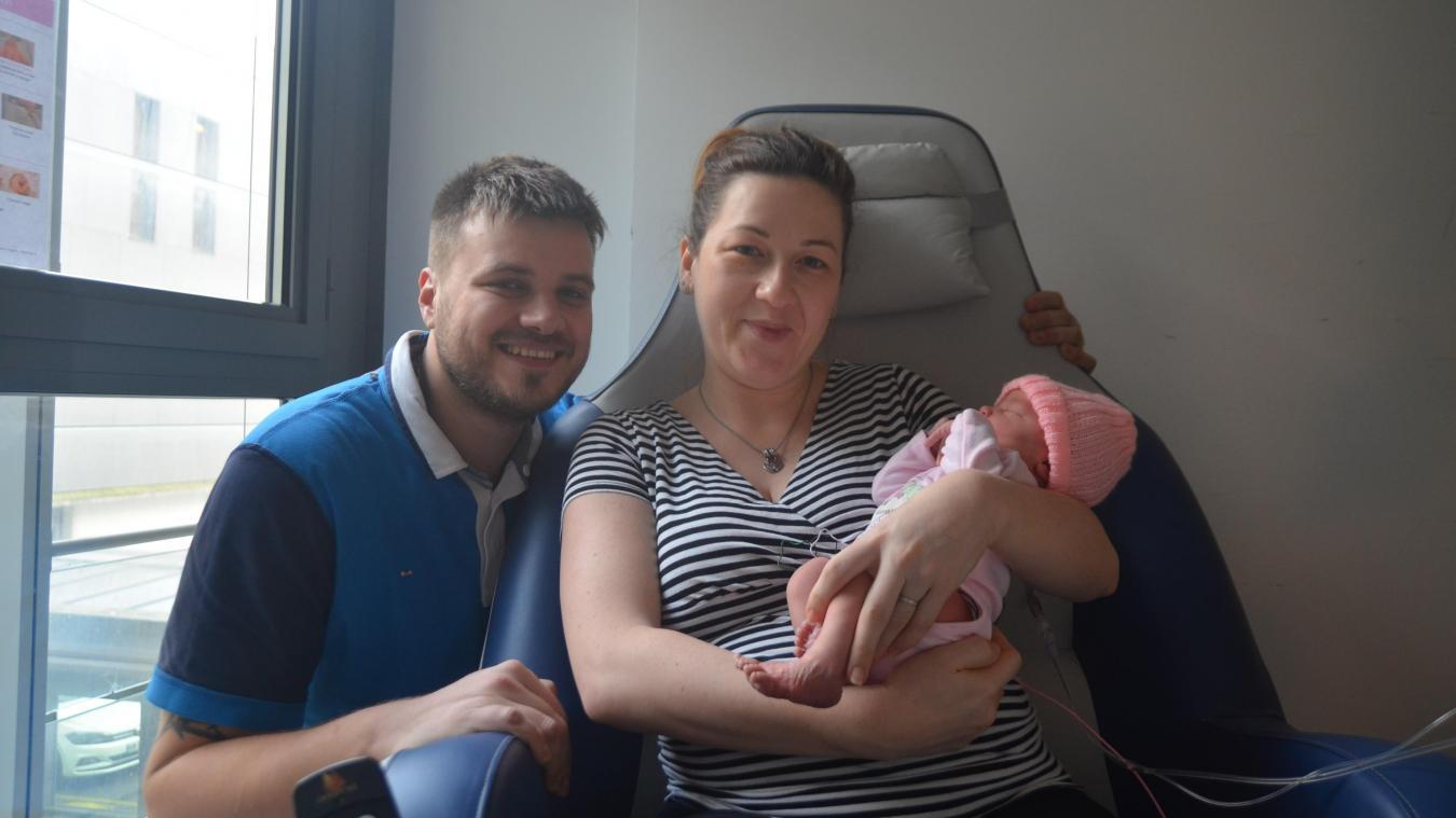 À Arras, le premier bébé de l'année est arrivé à 0h37