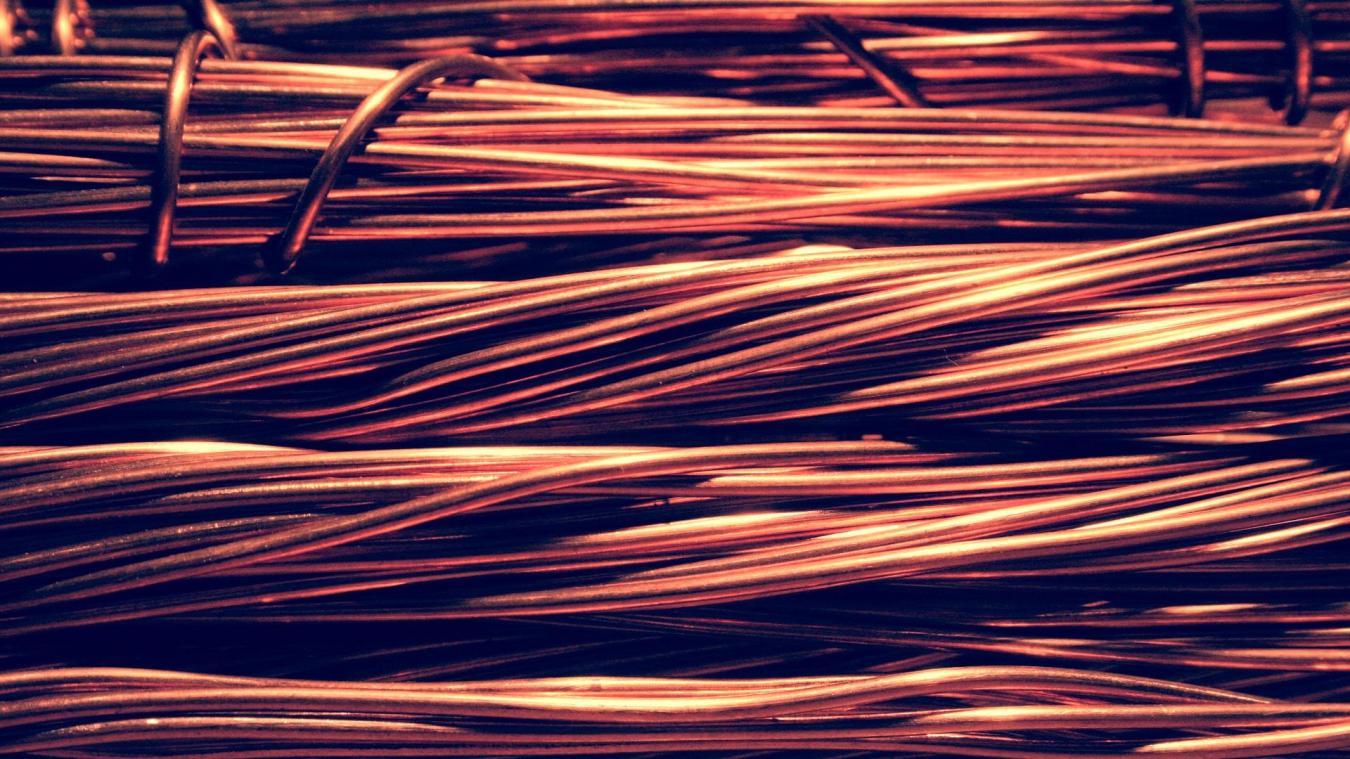 Trois tonnes de cuivre ont été dérobés. (Photo illustration - PIXABAY)