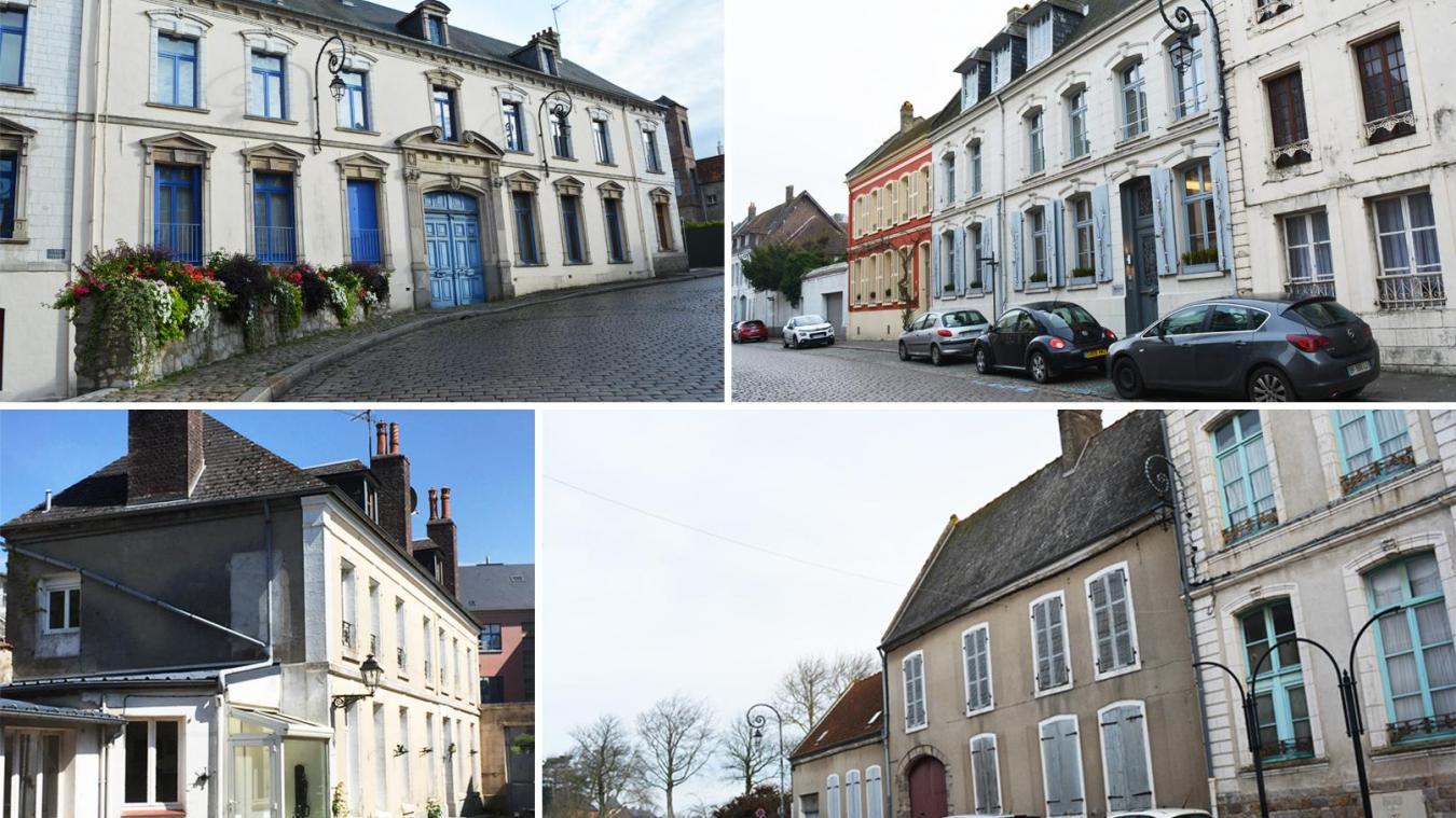 Trois hôtels particuliers et une maison bourgeoise du XVIIIe siècle cherchent en ce moment preneur.
