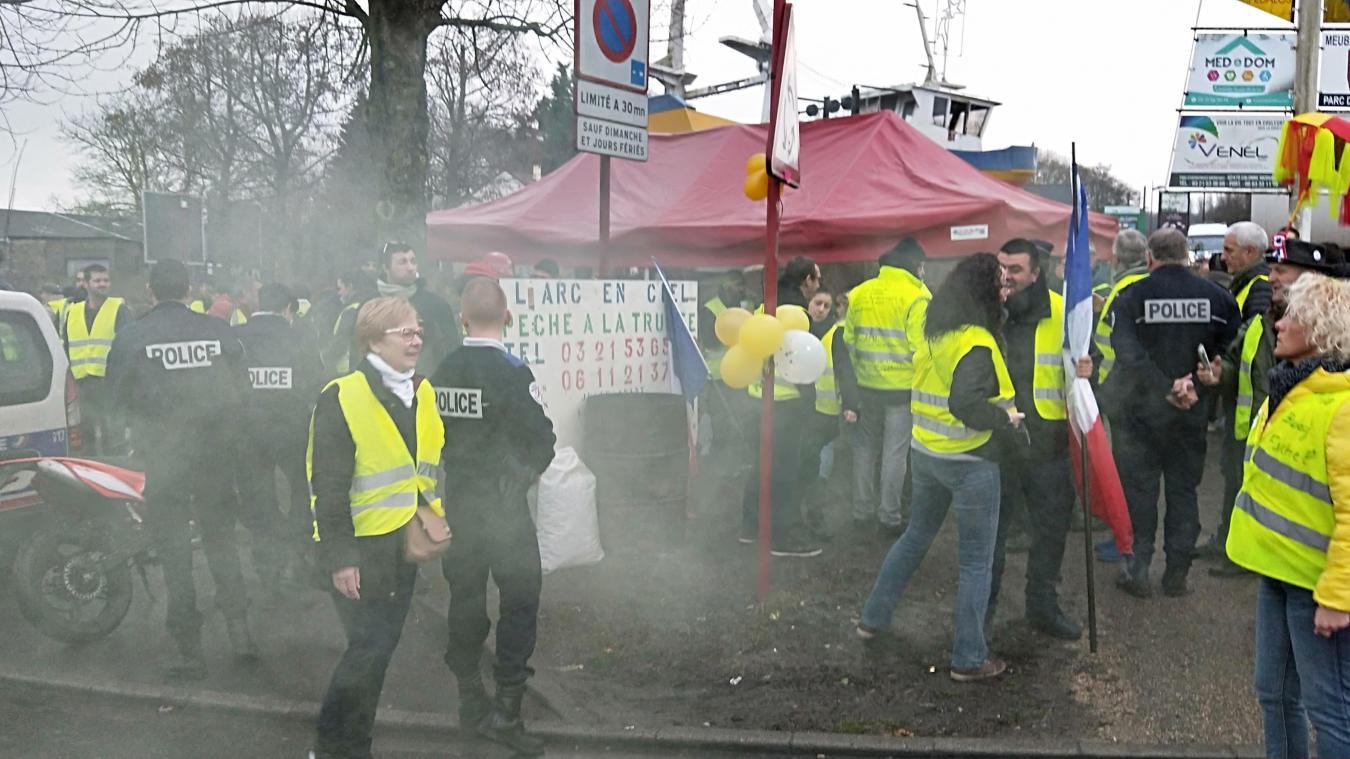 Une manifestation de Calonne-Ricouart à Bruay-la-Buissière (actualisé)