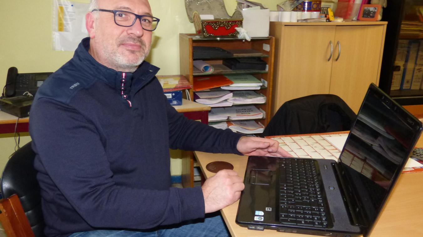 Laurent Charles a fait entrer les communautés d'Emmaüs des Attaques et de Saint-Omer dans l'univers du e-commerce.
