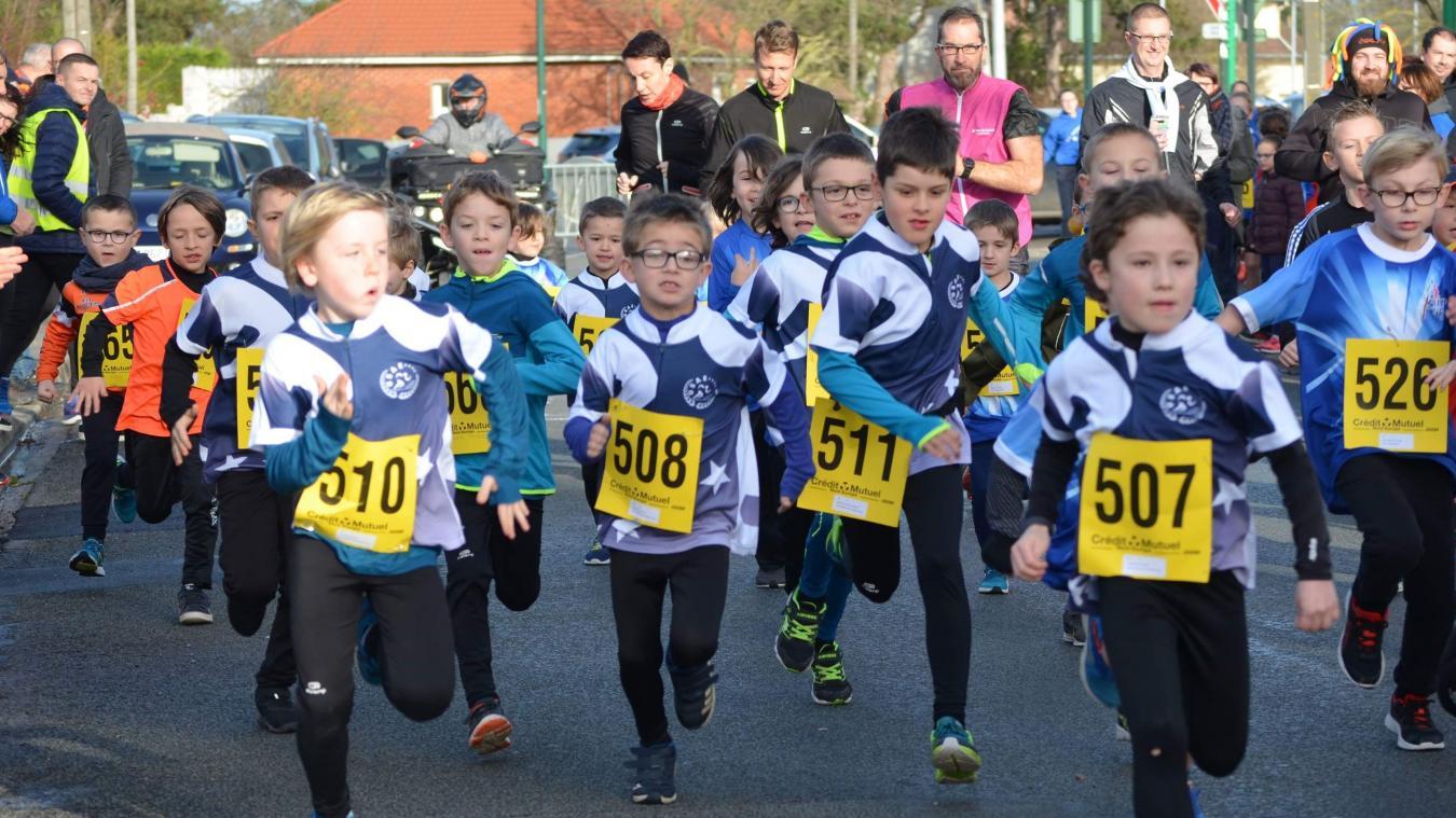 Les jeunes athlètes enquinois participent à de nombreuses courses dans la région et sont déjà montés sur plusieurs podiums.