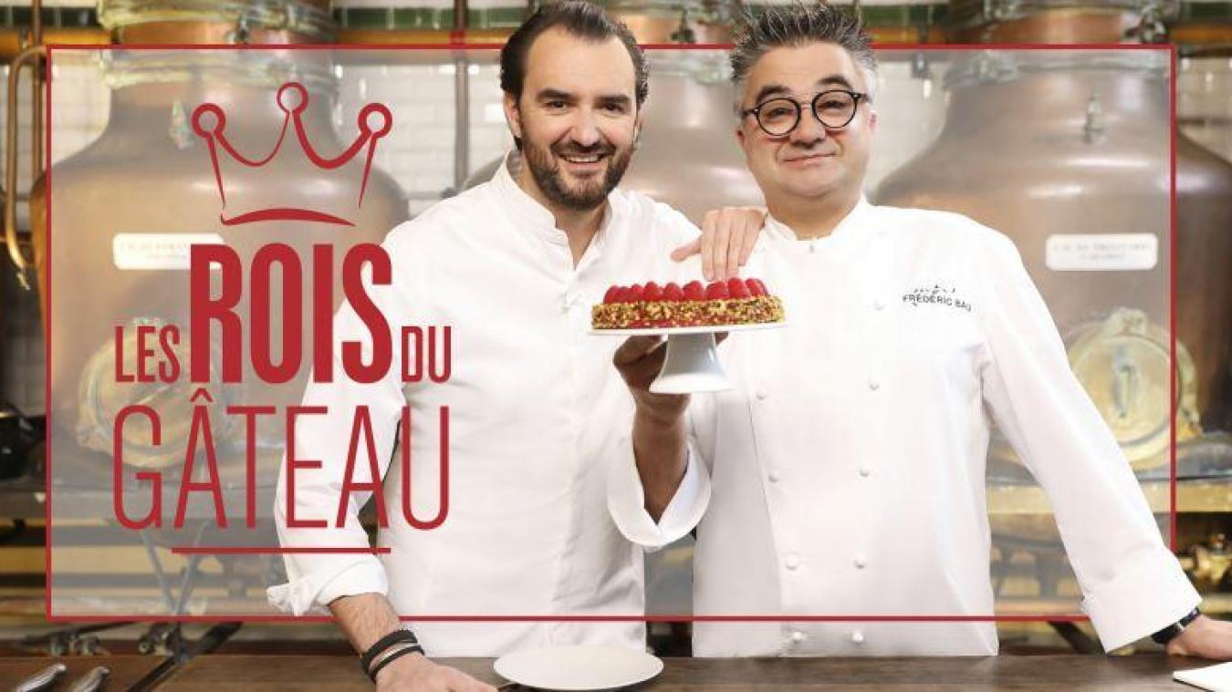 Cyril Lignac et Frédéric Bau à la recherche du roi du gâteau dans les Hauts-de-France et la Belgique dès ce 7 janvier.