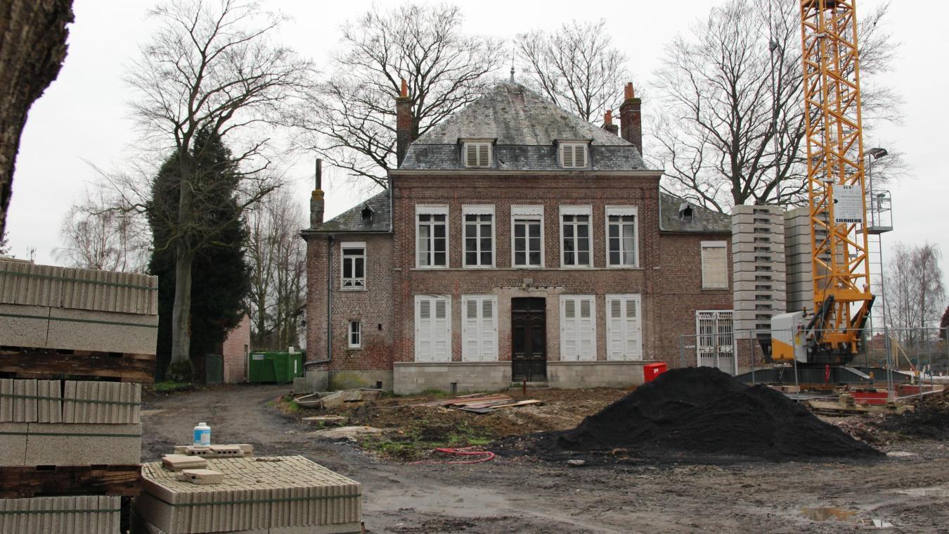 Renescure est propriétaire du château Deswarte et de son parc depuis un peu plus de cinq ans.