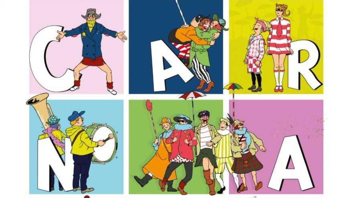 L'affiche du carnaval 2019 a été réalisée par un artiste dunkerquois : Gautier Desbonnets.