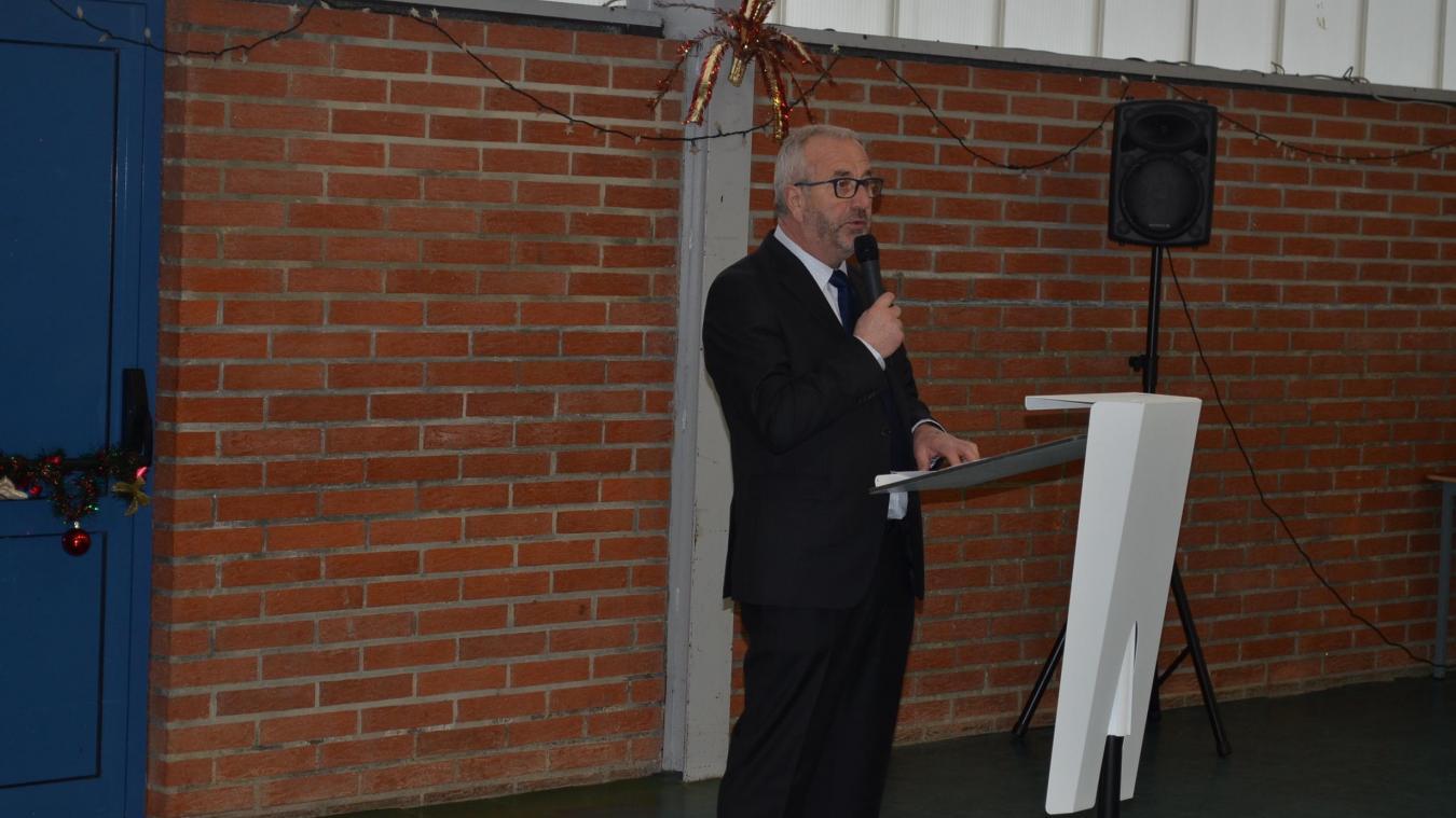 Bernard Delétré a listé les travaux que la commune a prévu de réaliser cette année.
