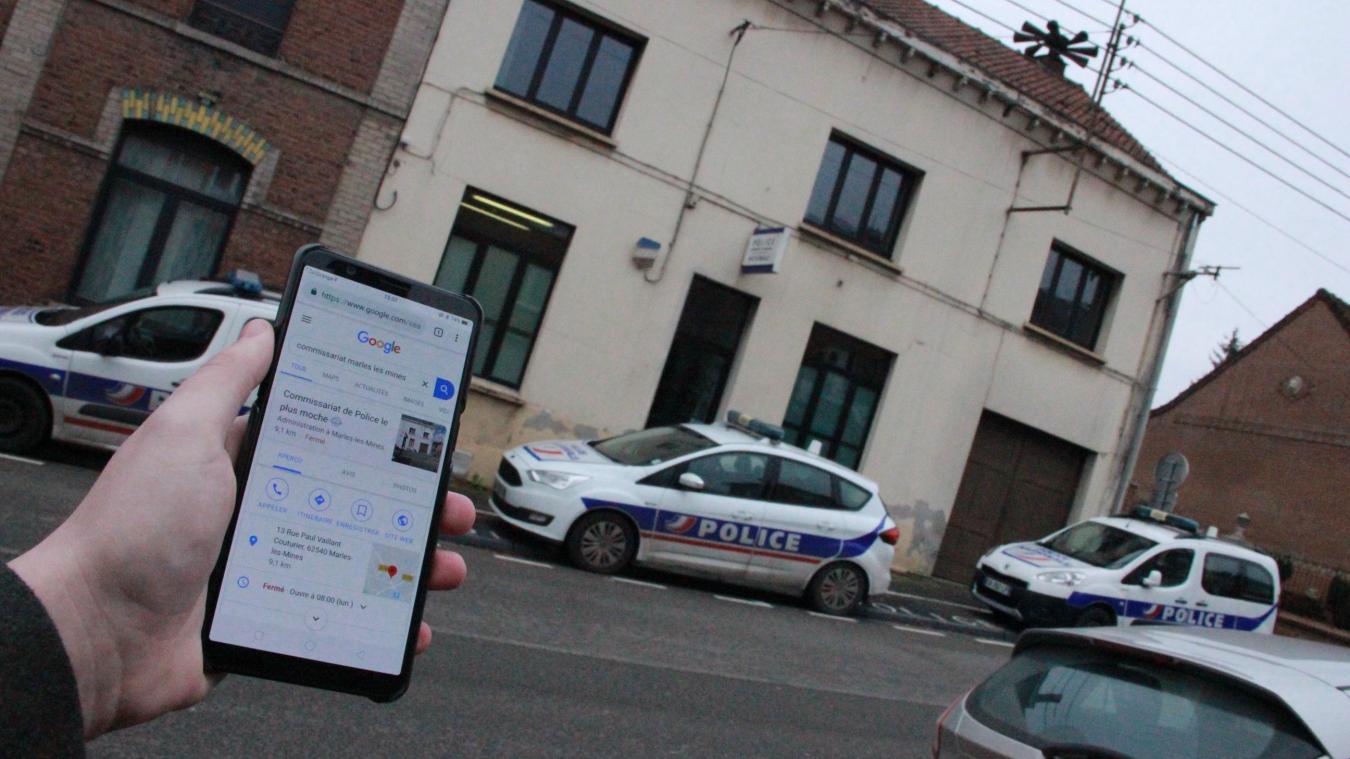 Insolite - Pour Google, le commissariat de Marles-les-Mines est ...