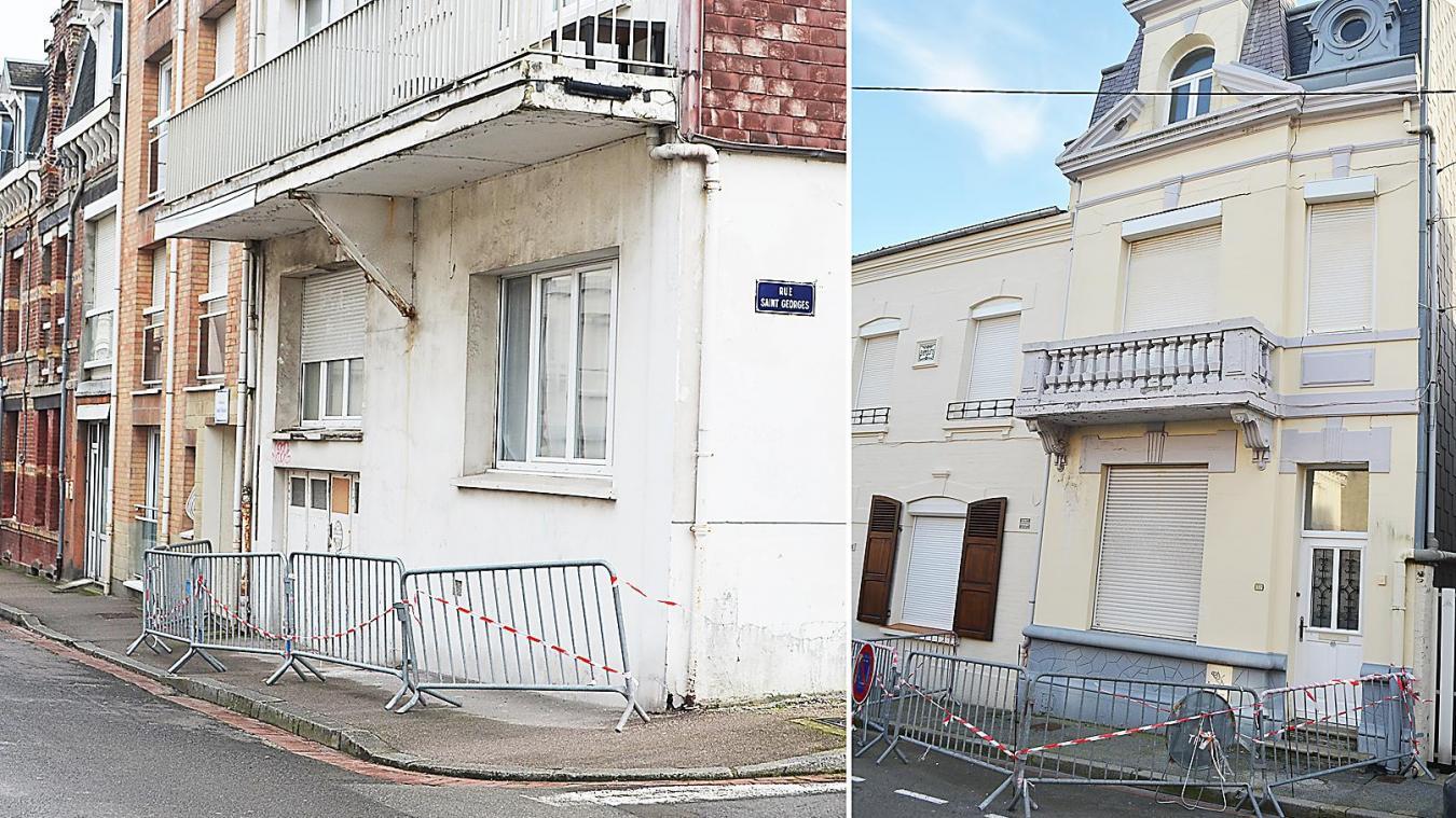 De nombreux balcons sont concernés par les arrêtés de péril. Mais aussi des maisons comme celle situé rue Rotschild qui, malgré son cachet et visiblement bien entretenue, subit les assauts du temps.