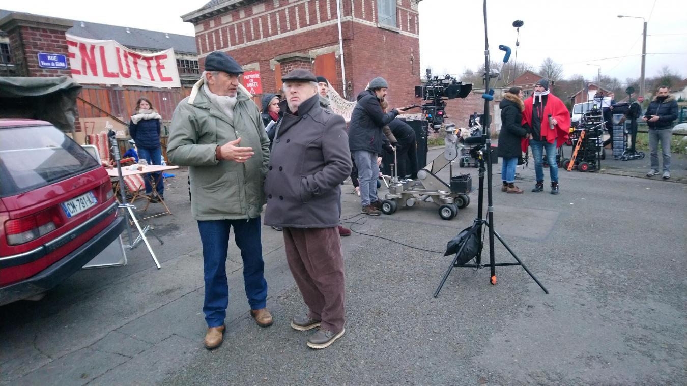 Loos-en-Gohelle/Sains-en-Gohelle : deux élus au casting du tournage de Mine de rien