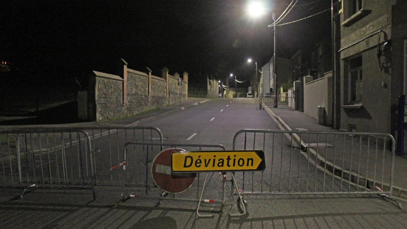 Desvres : un poteau menace de tomber, la rue du Pilbois partiellement coupée