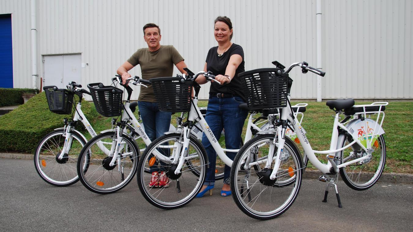 Le système de location de vélos électriques, Vélysoo, lancé en CCFL en septembre dernier devrait inspirer le projet bailleulois.