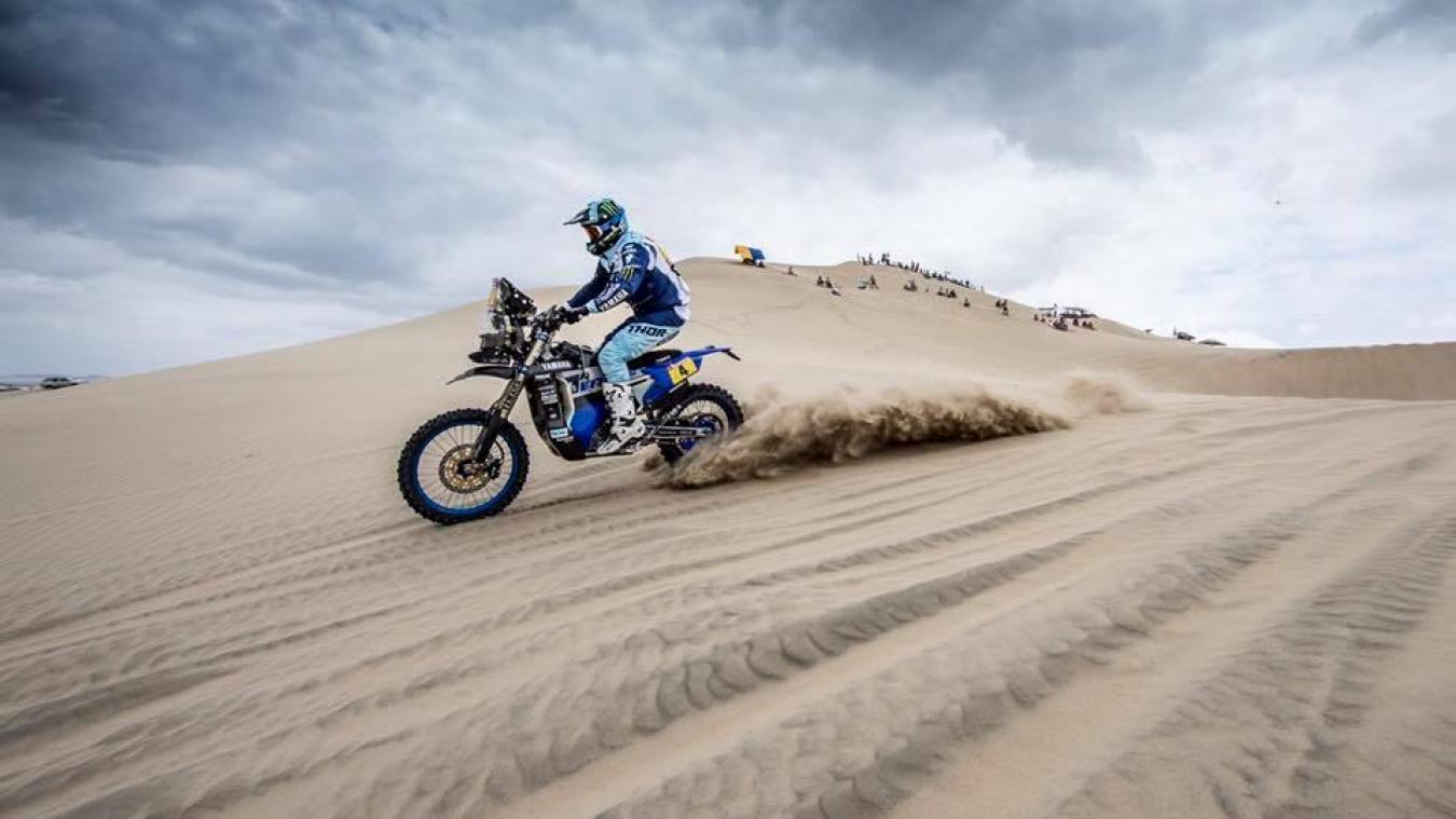 Après deux étapes difficiles, VBA a retrouvé ce mercredi son terrain de jeu favori, le sable.