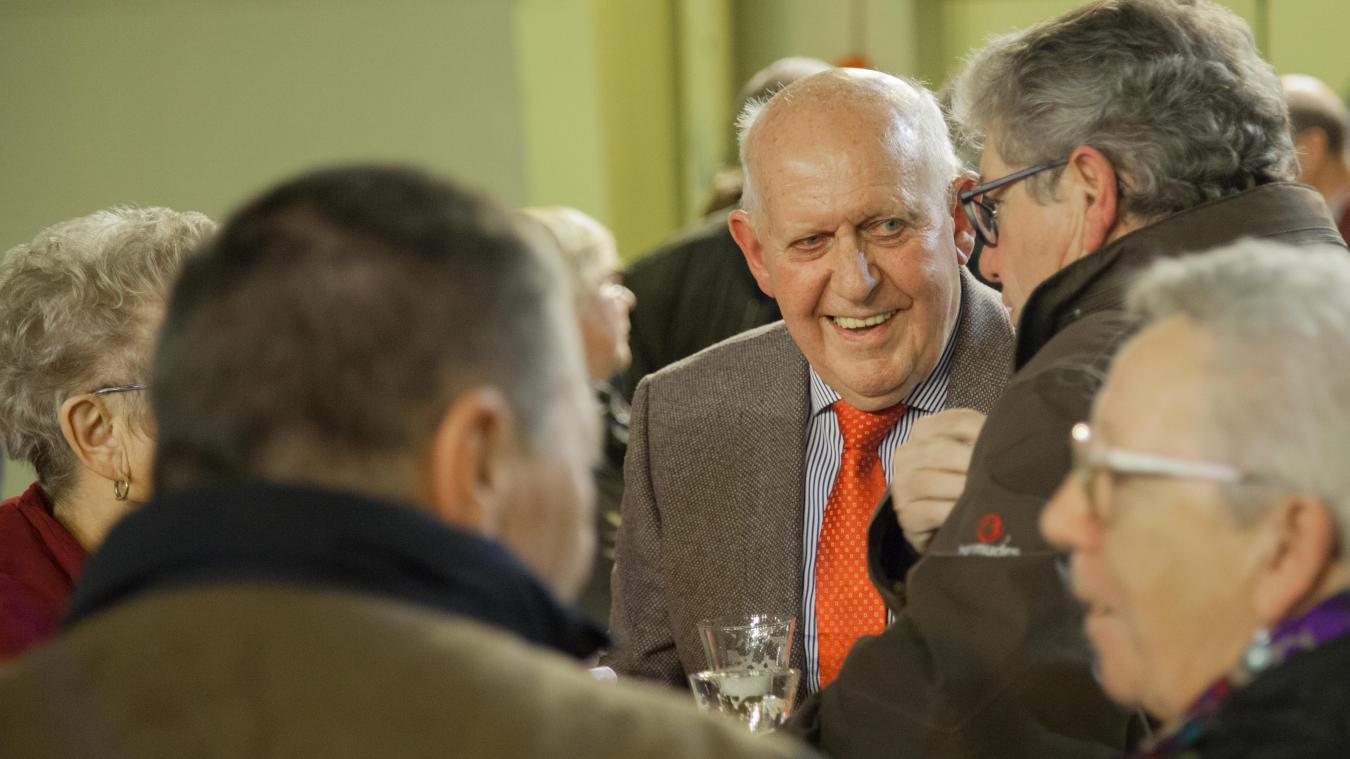 Pierre Denys, ancien conseiller municipal, est habitué à ce genre de cérémonie.