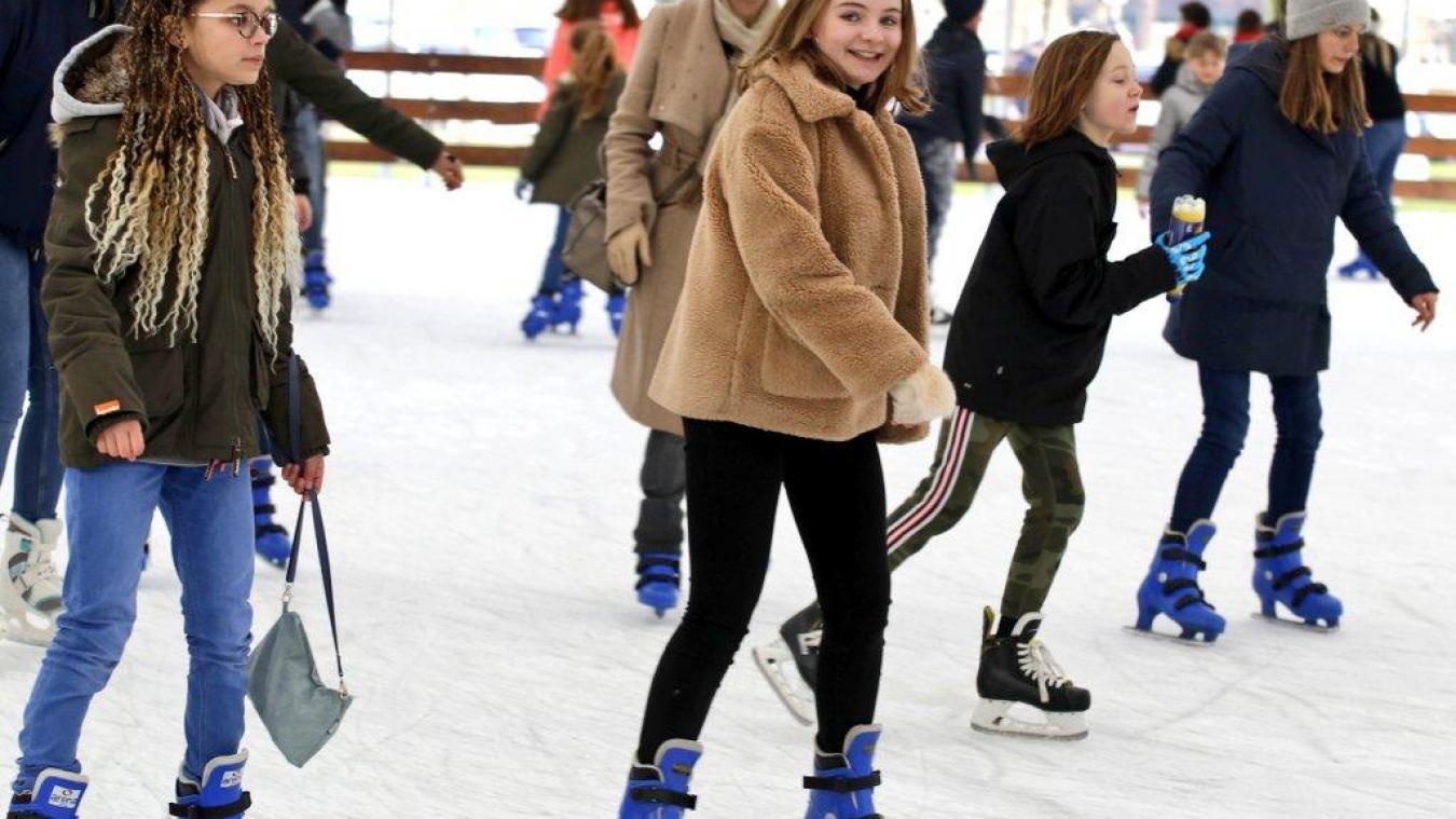 La patinoire a attiré pas moins de 11000 personnes