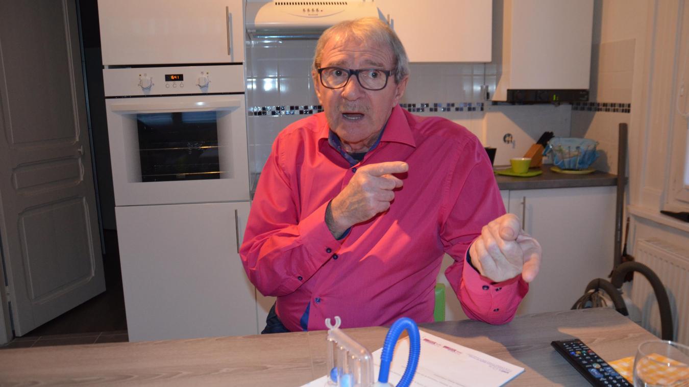 Jean-Pierre Igniace a effectué deux séjours à l'Hôpital maritime de Zuydcoote. Il s'inquiète du devenir du service de réhabilitation respiratoire.
