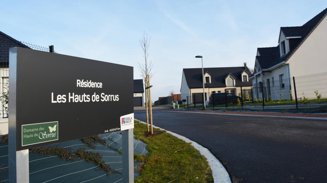 Les 13 parcelles du programme immobilier « Les hauts de Sorrus » ont été vendues en quelques mois.