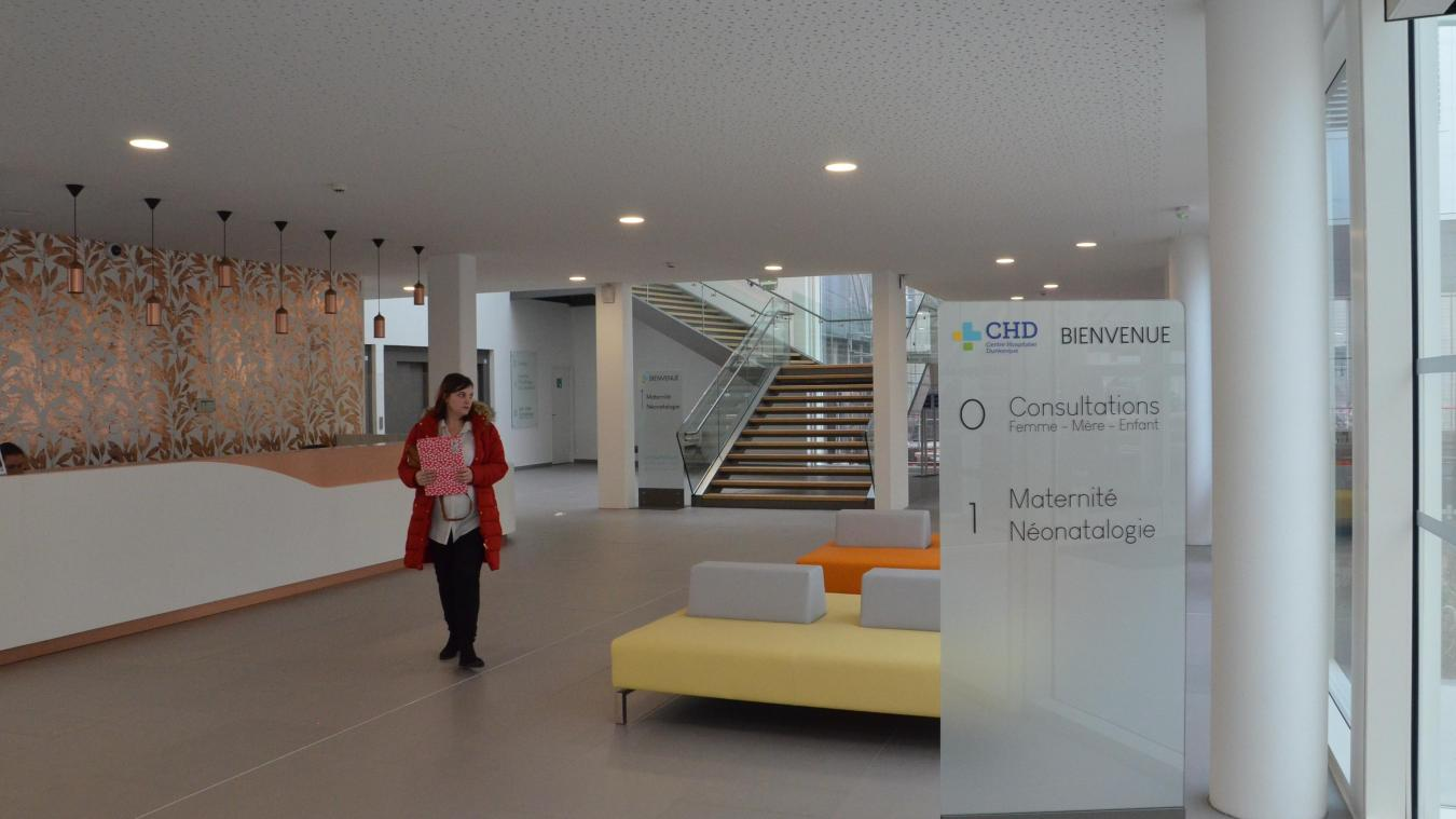 À partir du mois d'avril, l'accueil du Centre hospitalier de Dunkerque se fera au niveau de la nouvelle maternité.