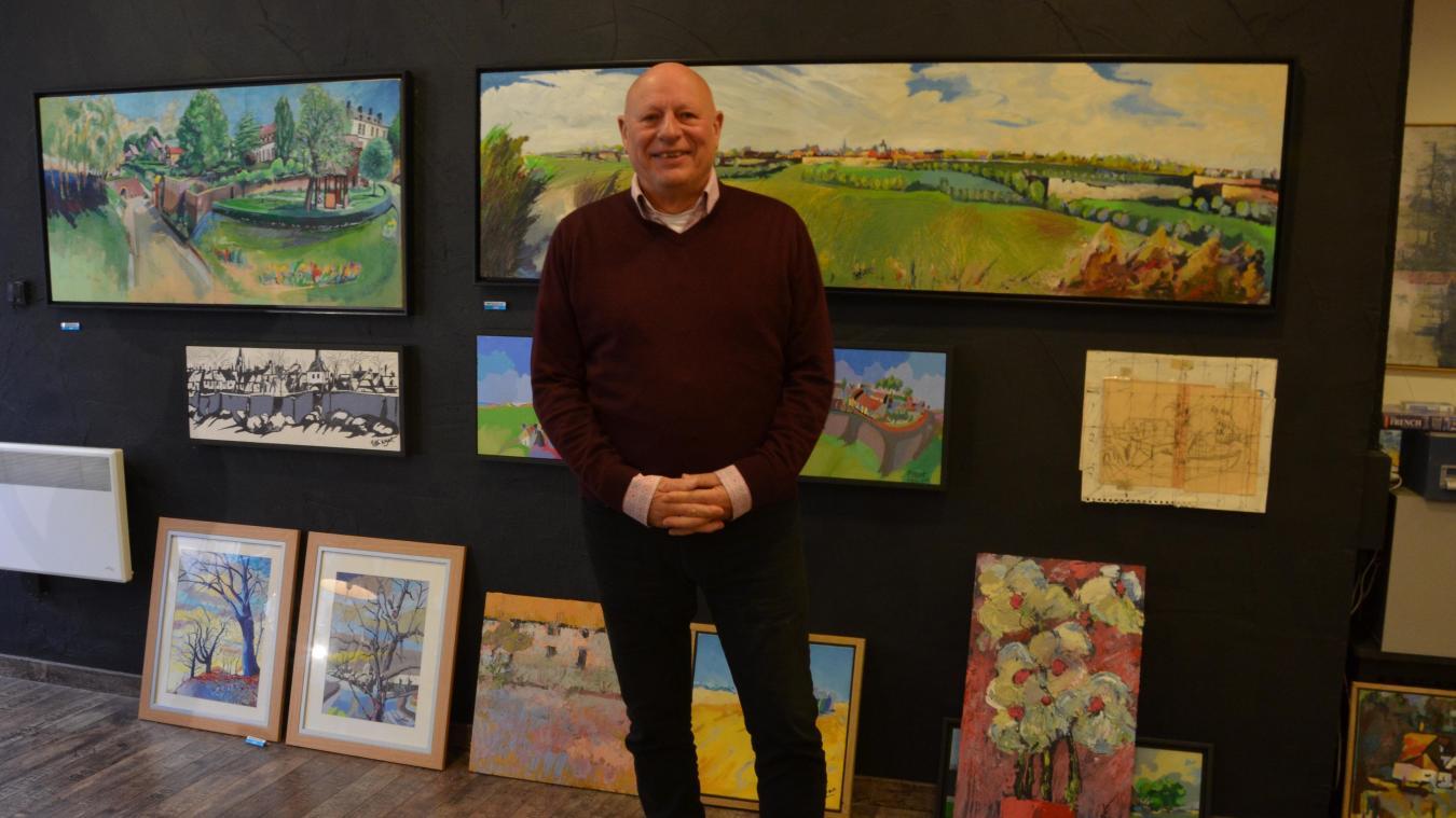 Peter Wyart lance un appel aux artistes du Montreuillois pour rejoindre l'association Talents, basée rue Pierre-Ledent.
