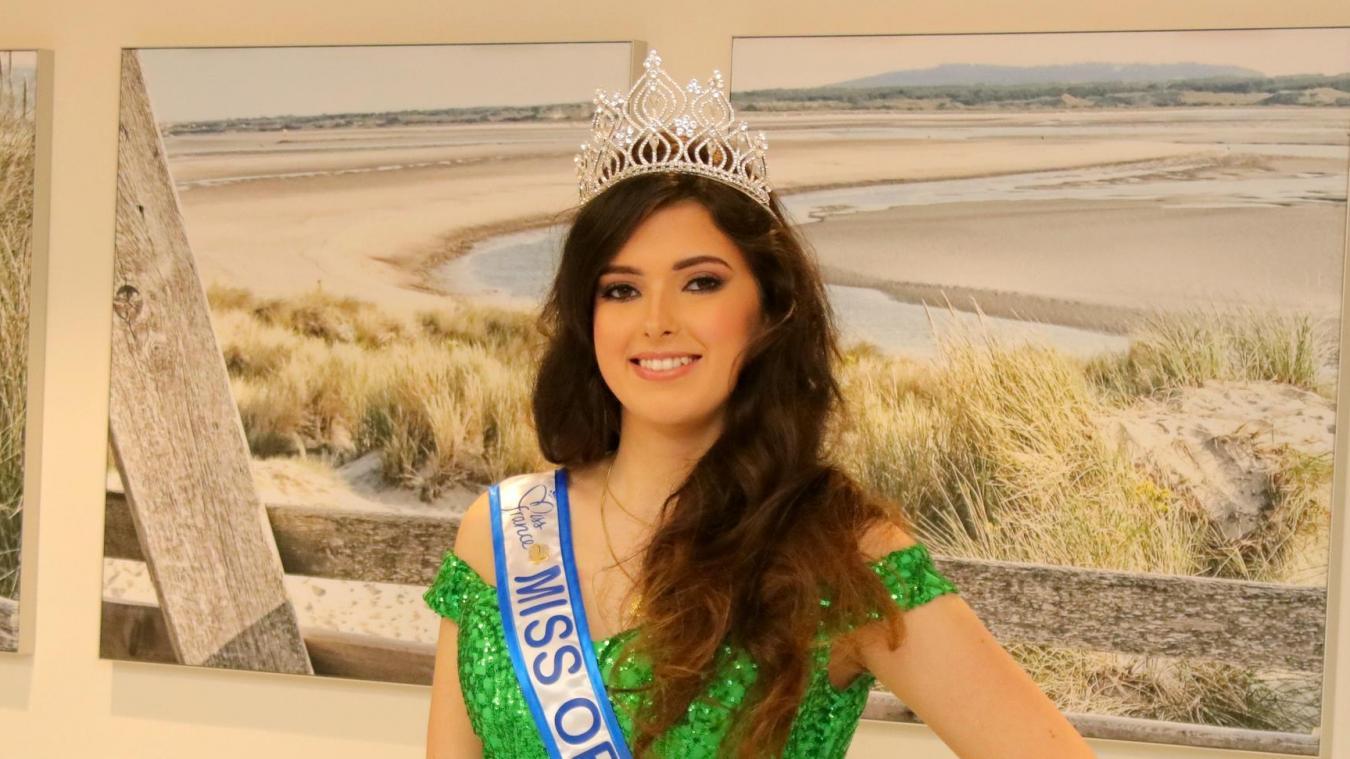A Berck, nous avons rencontré Emma Boutoille, Miss Opale Sud 2019 : «Une immense fierté,pour moi et ma famille»