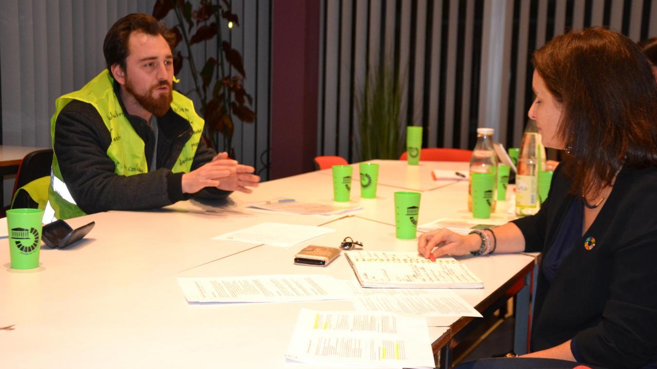 Des Gilets jaunes d'Hazebrouck, Bailleul et Lestrem ont été reçus pas la députée LREM.