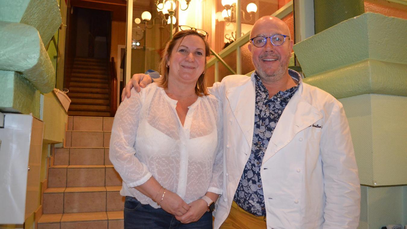 Sophie Beudin et Frédéric Vaucamps souhaitent rénover l'hôtel Éole, avec notamment la création de deux suites privées avec jacuzzi.