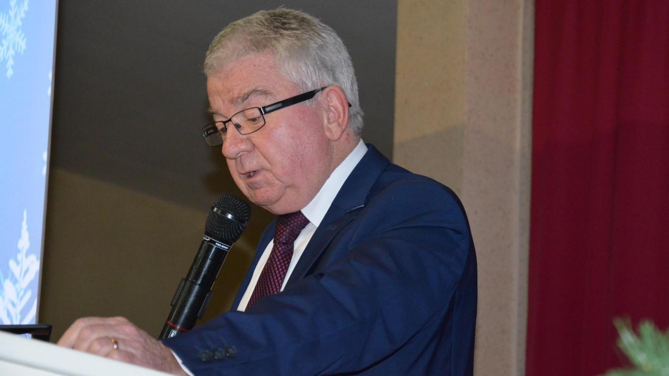 Jean-Paul Lefait a parlé projets et travaux, voirie, assainissement, fibre et défense incendie.