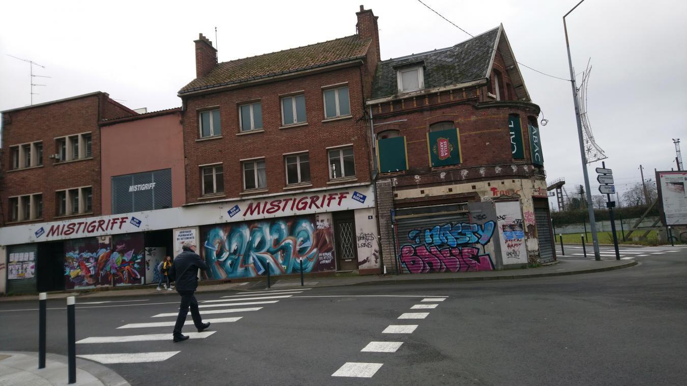 Situé en bas du boulevard Basly, la friche Mistigriff va enfin être détruite (photo M.G.).