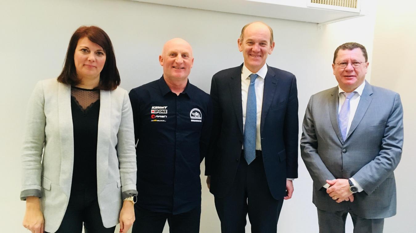 Daniel Fasquelle l'a souligné à Paris, ce mercredi 16 janvier, plusieurs partenaires sont nécessaires pour organiser l'Enduro du Touquet.