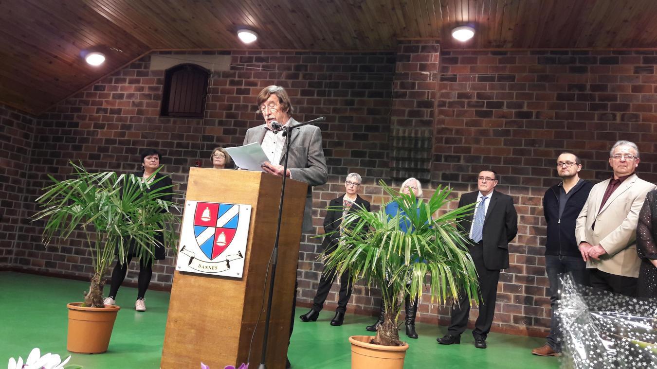 Les dossiers communaux ont été évoqués lors de cette cérémonie.