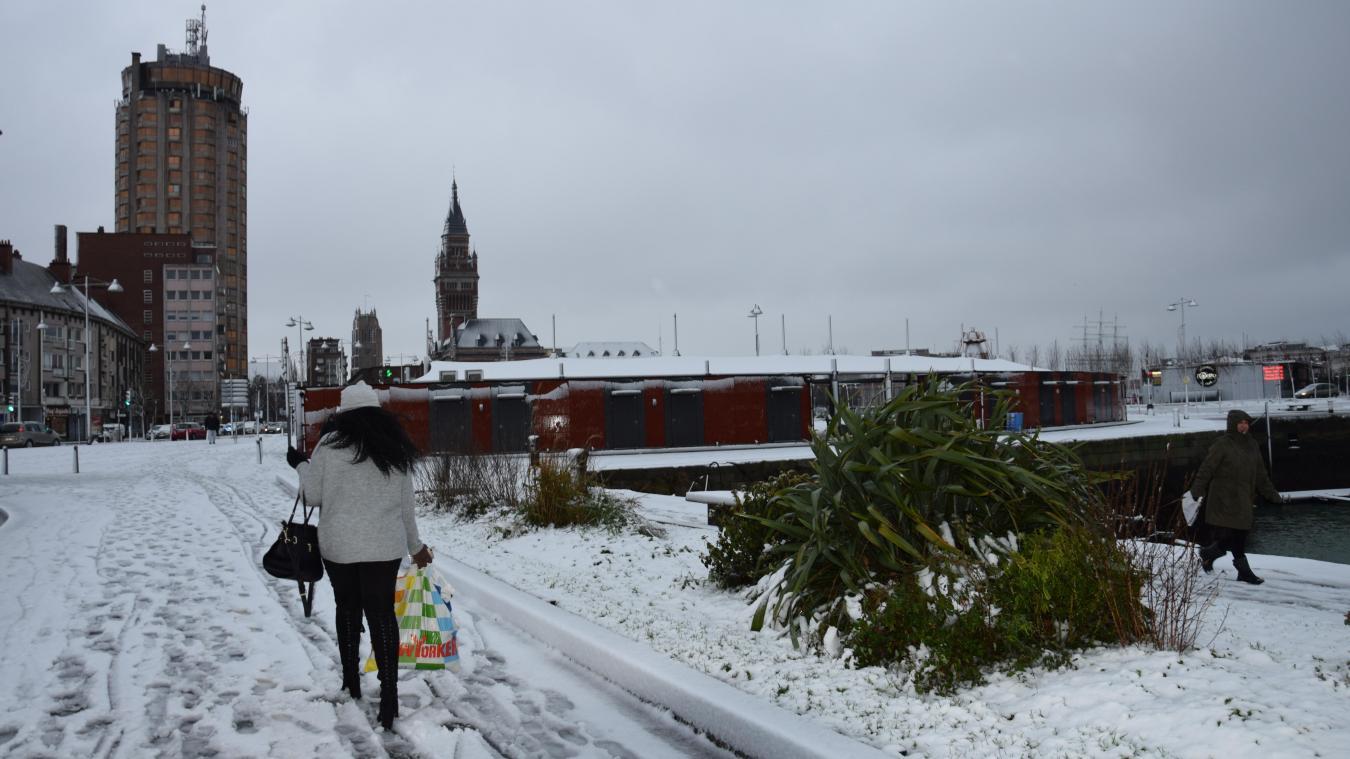 Va-t-il neigé à Dunkerque, comme le 11 décembre 2017 (photo)  ?