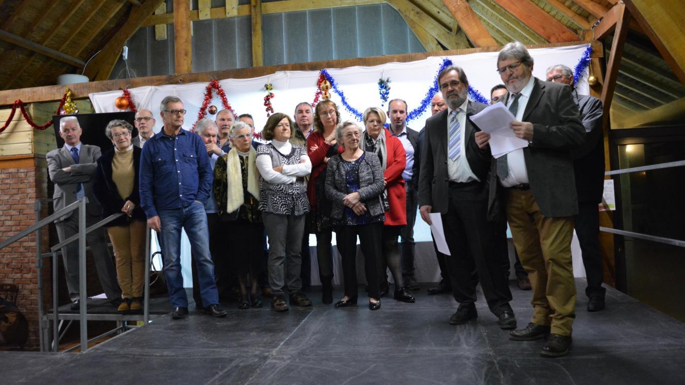 Le maire Jean Lebas a rappelé que des cambriolages ont eu lieu dans la commune en décembre.