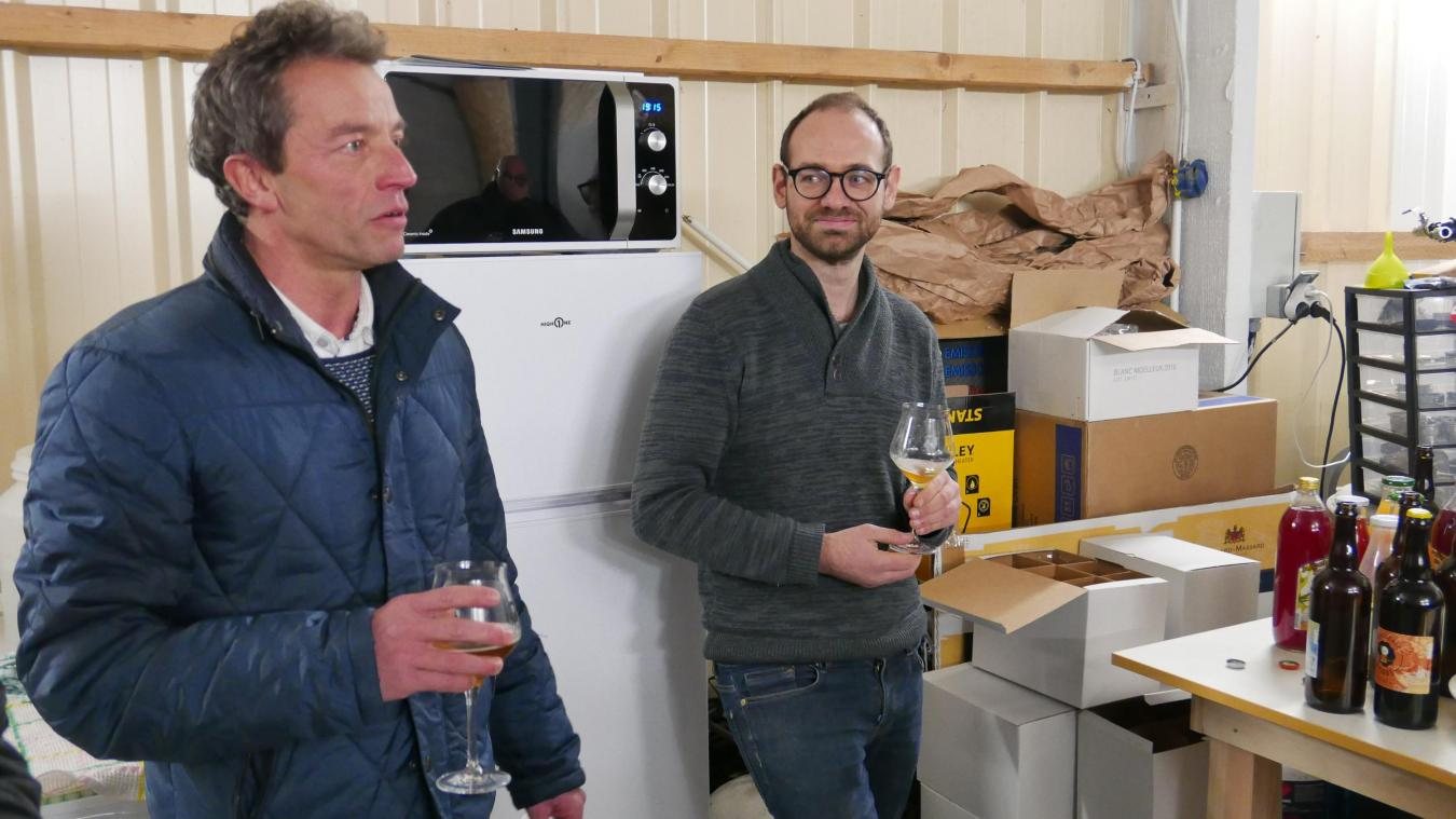 Julien Norroy a franchi le pas en décidant de créer sa micro-brasserie.