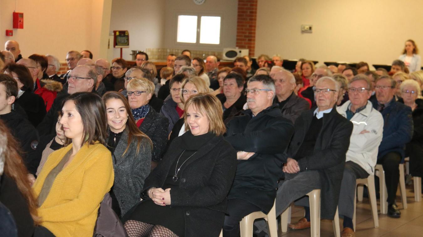 La cérémonie des vœux était organisée dimanche 13 janvier.