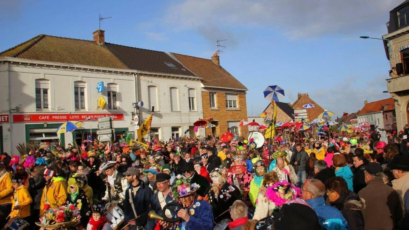 L'édition 2019 du carnaval de Godevaersvelde aura lieu le 24 février.
