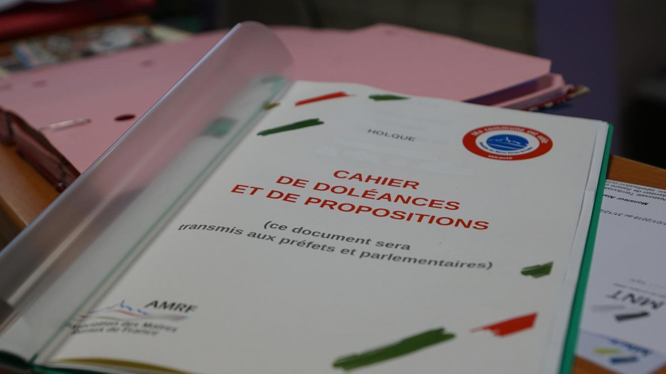 Les cahiers de doléances, comme celui de Holque, n'ont pas reçu le succès escompté. Les mairies feront tout de même remonter les quelques messages recueillis.