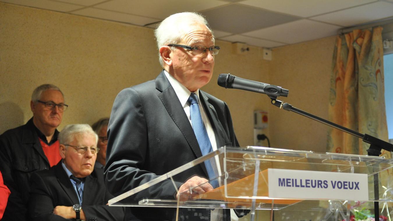Guy Bouvart a présenté ses vœux aux habitants de la commune.