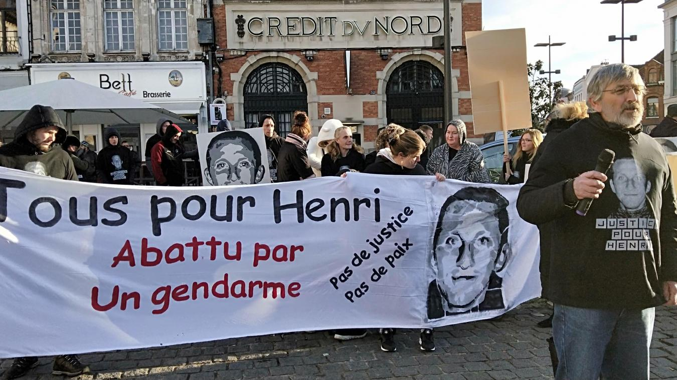 [Vidéos] Béthune: Manifestation des proches d'Henri Lenfant