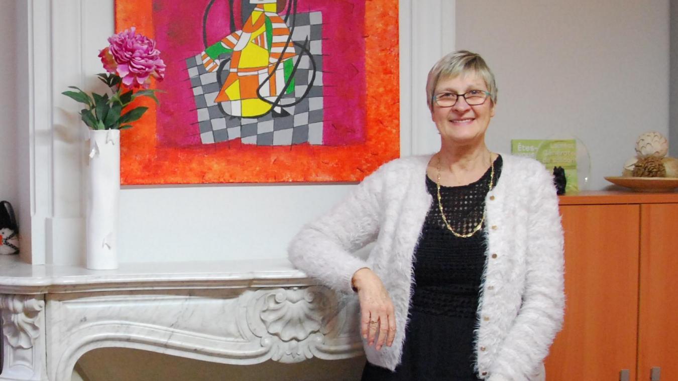 Daphné Bette a dirigé l'association pendant 25 ans.