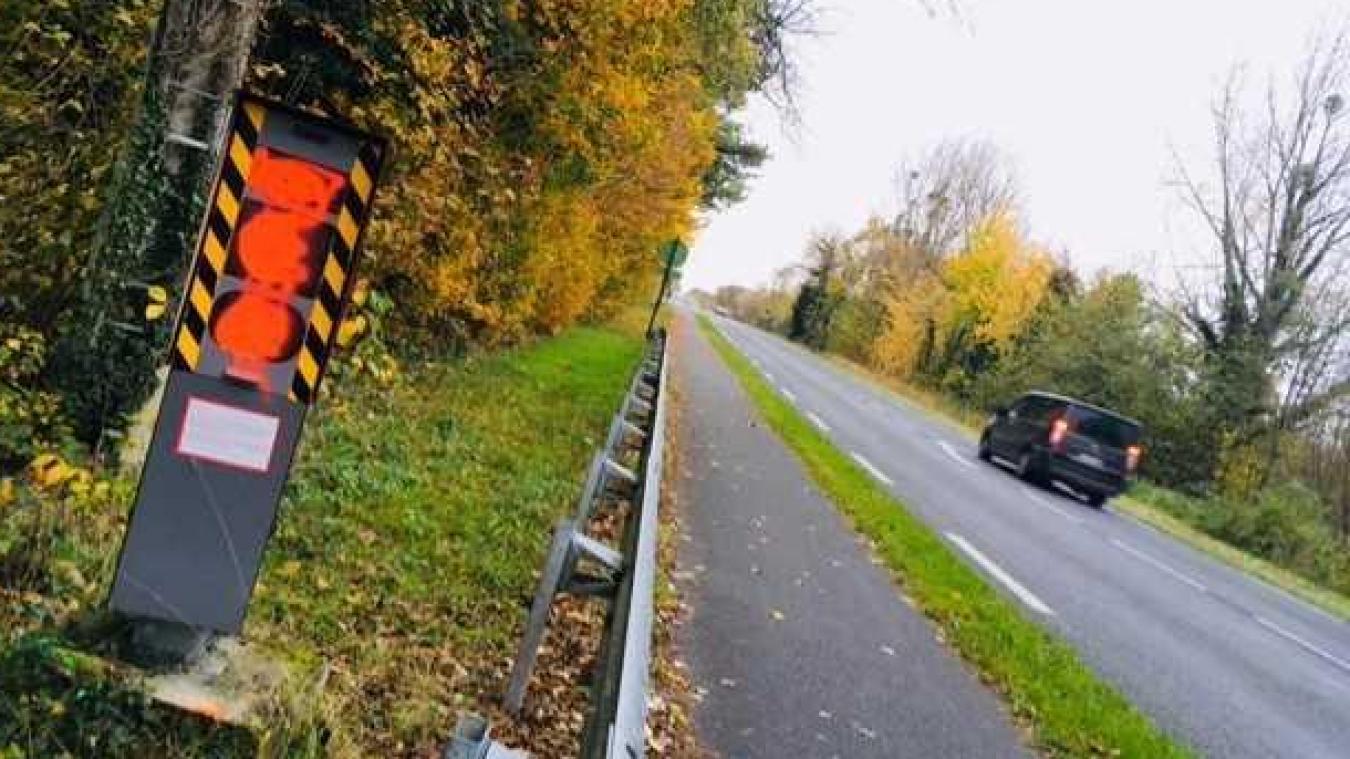 Le radar automatique de Camiers est régulièrement vandalisé.